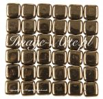 CzechMates Tile Beads 6mm Bronze 20 szt.