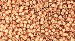 Toho Treasue 11/0 Galvanized Rose Gold TT-11-551 5 gram