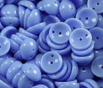 Koraliki Piggy Beads 4x8 mm Opaque Blue 20 szt.