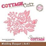 Wykrojnik CottageCutz - Wedding Bouquet (4x4)