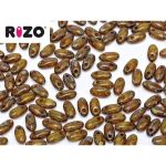 Rizo 2,5 x 6 mm Lime Dark Travertin 10 gram