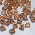 Triangle Preciosa 5/5 mm – Silver Lined Peach  10 gram