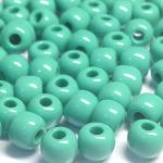 Rocail 32/0 Opaque Turquoise 63130 -50 gram