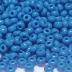 Rocail 10/0 Opaque Dark Blue Turquoise 63080 -10 gram