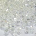 Preciosa Hexagon Bugle Crystal AB 2,25 mm 10 gram