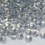 Preciosa Drop Crystal Gray Lined 38642 5/0 -4,6mm 10 gram