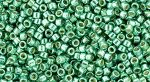 Toho Treasure 11/0 Galvanized Green Teal TT-11-561 gram