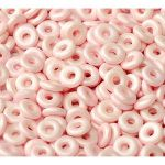 O bead ® 1 x 3,8 mm Alabaster Pastel Rose 5 gram