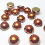 Dome Bead 12x7mm California Gold Rush 1 szt.