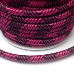 Sznurek 5mm  nylon - na tubie violet/red - 1 m