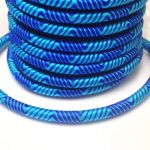 Sznurek 5mm  nylon - na tubie - deep sky blue- 1 m