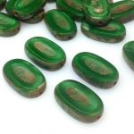 Koraliki Czech Glass Beads Table Cut Ovals 22/13mm