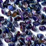 Pinch Beads 5x3mm Crystal Magic Blue - 5 g (ok.60 szt.)