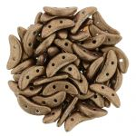 CzechMates Crescent 3/10mm  Saturated Metallic Tan- 5 gr