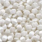 Pinch Beads 5x3mm Chalk White Shimmer 14400- 5 g (ok.60 szt.)
