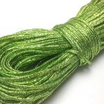 Sznurek sutasz INDIE  2mm Metallic Lemon Green -  1 m