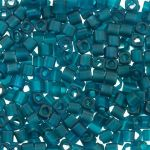 Toho Cube 3mm Transparent - Frosted Teal TC-03-7BDF 10 gram