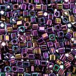Toho Cube 3mm Metallic Iris Purple TC-03-85 10 gram