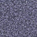 Toho Round 15/0 Purple Lined Crystal Luster Matte 5 gram