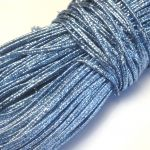 Sznurek sutasz INDIE 2mm Metallic Lt. Blue -  1 m