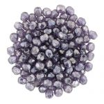 Fire Polish 2 mm Luster - Tanzanite -  40 szt.