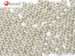O bead ® 1 x 3,8 mm Alabaster Pastel Lt.Grey 5 gram