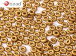 O bead ® 1 x 3,8 mm Brass Gold 01740 - 5 gram