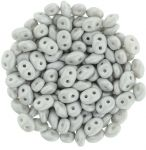 Superduo 2,5x5mm Powdery - Pastel Gray - 10 gram