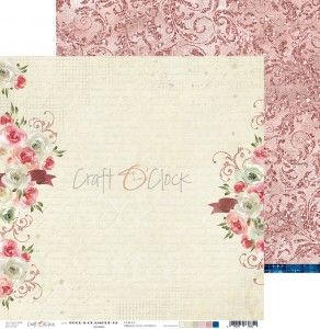 BOLD & GLAMOUR double-sides paper 30,5x30,5 cm 190gr - 1 pc