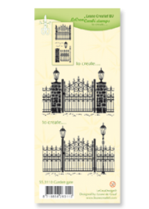 Stempel - Clear Stamp  Garden Gate - 1 szt
