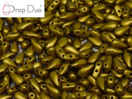 DropDuo® 3x6 mm Brass Gold - 20 szt