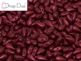DropDuo® 3x6 mm Lava Red - 20 szt