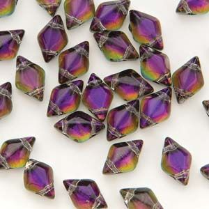 GemDuo  8x5mm BACKLIT PURPLE HAZE - 5 gram