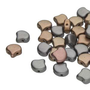 Ginko 7,5 mm Crystal Grey Rainbow - 20 szt