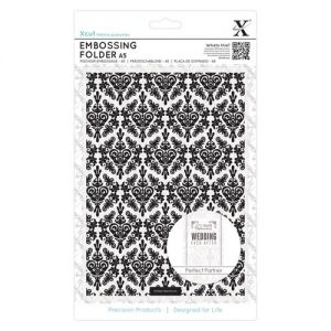 Folder do embosSingu A5 Damask Background