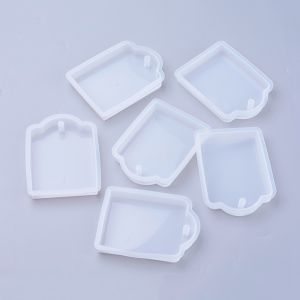 Silicone Moulds  80x57x12mm - pc