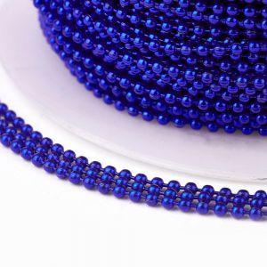Iron ball chains 1,5 mm electrophoresis BLUE- 0,5 m