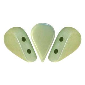 Amos® Par Puca® 5x8mm Opaque Light Green Luster - 5 gr