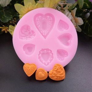 silcone moulds HEART - 72x10 mm - 1 pc