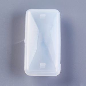 Silicone Moulds for resin 50x22 mm (52x27x9mm,52x26x6mm)  - set