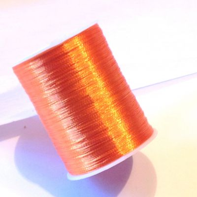 Nici metalizowane 0,1 mm ~55m ORANGE  - 1 szt