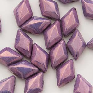 GemDuo 8x5mm Chalk Vega Purple- 5 gram