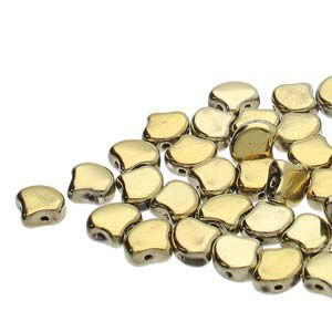 Ginko 7,5 mm POLISHED BRASS - 20 szt