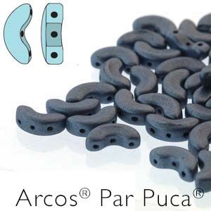 Arcos® Par Puca® 5x10mm METALLIC MAT BLUE - 5 gram