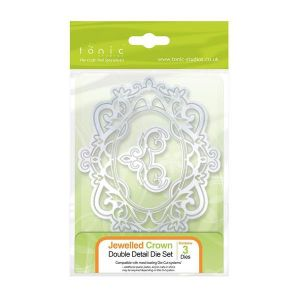Wykrojnik Tonic Studios -Double Detail - Jewelled Crown Die Set - 1143e - 1 szt